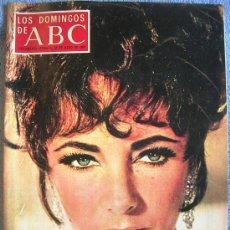 Coleccionismo de Los Domingos de ABC: LOS DOMINGOS DE ABC, MAYO 1969. ENRIQUE MONJO, GREGORIO MARAÑON, ELIZABETH TAYLOR, JULIO VERNE...... Lote 31703590