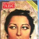 Coleccionismo de Los Domingos de ABC: LOS DOMINGOS DE ABC, DICIEMBRE 1971. VON BRAUN. ROMA, MORAVIA Y FELLINI. GOLDA MEIR. CONCHITA PIQUER. Lote 165065641