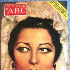 Coleccionismo de Los Domingos de ABC: LOS DOMINGOS DE ABC, DICIEMBRE 1971. VON BRAUN. ROMA, MORAVIA Y FELLINI. GOLDA MEIR. CONCHITA PIQUER. Lote 185916586