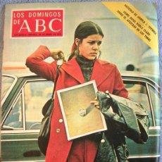 Coleccionismo de Los Domingos de ABC: LOS DOMINGOS DE ABC. ENERO 1972. JAIME OSTOS. GERARDO DIEGO, FERNANDO REY, CAROLINA DE MONACO, CHINA. Lote 31752684