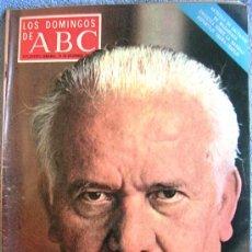 Coleccionismo de Los Domingos de ABC: LOS DOMINGOS DE ABC, DICIEMBRE 1971. LOPEZ IBOR, HALFFTER, GERALDINE CHAPLIN Y SAURA, PINITO DEL ORO. Lote 31795886