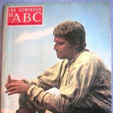 Coleccionismo de Los Domingos de ABC: LOS DOMINGOS DE ABC, MAYO 1971. TOYNBEE, DI STEFANO, MARQUEZ PIQUER, CHARLTON HESTON, ZORI-SANTOS.... Lote 31809134
