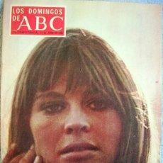 Coleccionismo de Los Domingos de ABC: LOS DOMINGOS DE ABC, JUNIO 1969. ANTHONY EDEN, NICOLAS FRANCO, JULIE CHRISTIE, EL ALMA SE SERENA..... Lote 53612372