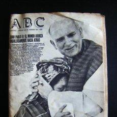Coleccionismo de Los Domingos de ABC: ABC. MADRID SABADO 20 FEBRERO 1988. JUAN PABLO II: EL MUNDO AVANZA ORGULLOSAMENTE HACIA ATRÁS.. Lote 31952099