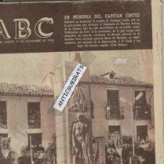 Coleccionismo de Los Domingos de ABC: ABC.AÑO 1958.CAPITAN CORTES.SANTUARIO DE N.S.DE LA CABEZA.GUERRA CIVIL.AVECREM. Lote 32270637