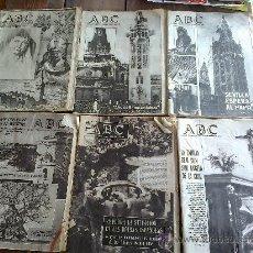 Coleccionismo de Los Domingos de ABC: PERIODICO ABC. Lote 32371773
