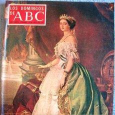 Coleccionismo de Los Domingos de ABC: LOS DOMINGOS DE ABC, JULIO 1970. EUGENIA DE MONTIJO, HARRY BELAFONTE, PALOMA PASO, NARANCO Y BULNES.. Lote 32714955