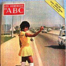 Coleccionismo de Los Domingos de ABC: LOS DOMINGOS DE ABC, ABRIL 1972. EL GUSTO, NIXON - MCGOVERN, EL COLLAR DE LA REINA, MANOLO CARACOL... Lote 140301316