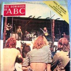 Coleccionismo de Los Domingos de ABC: LOS DOMINGOS DE ABC,JULIO 1972. SANCHEZ-ALBORNOZ, MENOS SALMONES, SER UNA KENNEDY, GRAN FIESTA POP... Lote 32746089