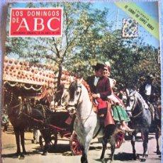 Coleccionismo de Los Domingos de ABC: LOS DOMINGOS DE ABC, ABRIL 1971. ATLETICO - BARÇA, EMMA PENELLA, FERIA DE SEVILLA, LOPEZ RODO, CHINA. Lote 32750832