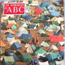Coleccionismo de Los Domingos de ABC: LOS DOMINGOS DE ABC, SEPTIEMBRE 1970. GOYA, BENIN, SURMENAGE, MELILLA, OLIVIA HUSSEY, LOS HIPPIES.... Lote 32783713