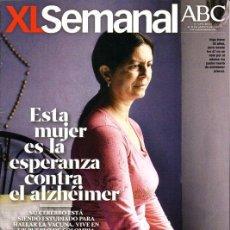 Coleccionismo de Los Domingos de ABC: XL SEMANAL 1293- ALZHEIMER - ZIDANE ENTREVISTA - EL AMIGO JUDIO DE HITLER - NUEVA DE QUIOSCO. Lote 32938744