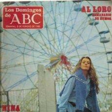 Coleccionismo de Los Domingos de ABC: LOS DOMINGOS DE ABC, 3 DE FEBRERO DE 1985. Lote 32984852