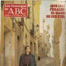 Coleccionismo de Los Domingos de ABC: LOS DOMINGOS DE ABC. 27 DE ENERO DE 1985. Lote 32984891