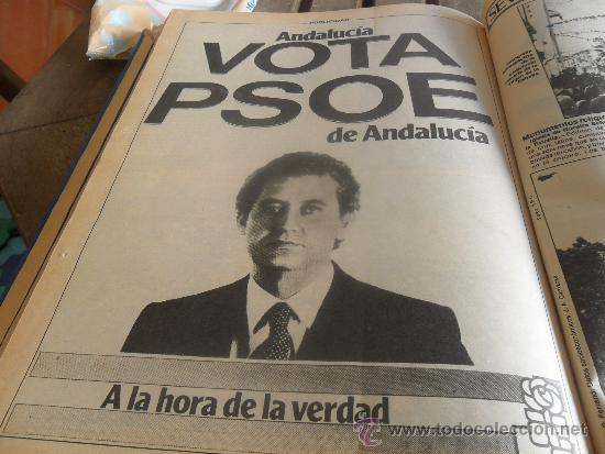 Coleccionismo de Los Domingos de ABC: TOMO CON LA RECOPILACION DE LO EDITADO POR ABC EN LOS AÑOS 1981 1982 SEVILLA PUEBLO A PUEBLO - Foto 8 - 34307034