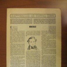 Coleccionismo de Los Domingos de ABC: ABC 22-5-85. CENTENARIO DE VICTOR HUGO. Lote 34682862
