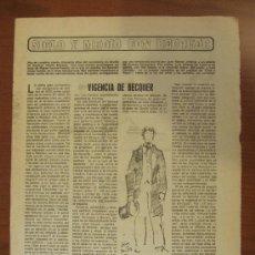 Coleccionismo de Los Domingos de ABC: ABC 17-2-86. SIGLO Y MEDIO SIGLO CON BÉQUER. Lote 34690829