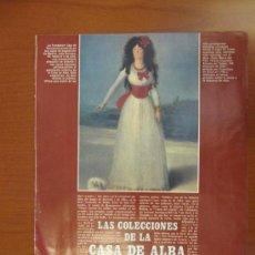 Coleccionismo de Los Domingos de ABC: LOS DOMINGOS DE ABC - MAYO DE 1987 - EL ARTE EN LAS COLECCIONES DE LA CASA DE ALBA. Lote 34694652
