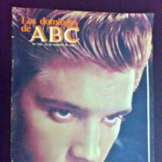 Colecionismo de Los Domingos de ABC: ELVIS PRESLEY, LOS RESTOS DE UN MITO - REVISTA LOS DOMINGOS DE ABC, 15 DE AGOSTO DE 1982. Lote 34693033
