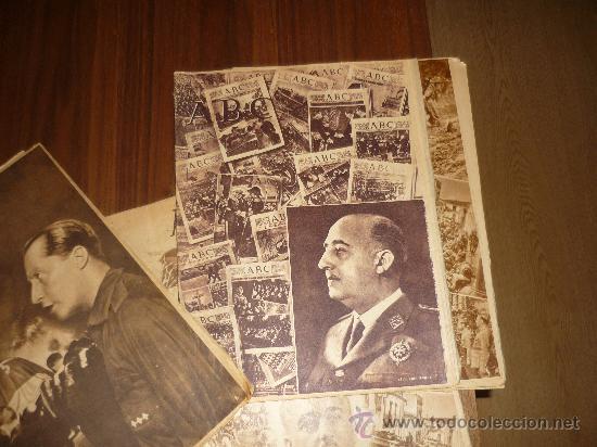 Coleccionismo de Los Domingos de ABC: LOTE DE 7 ABC EL DIA DE LA VICTORIA Nº EXTRAORDINARIO 1941 42 49 50 ETC CON FRANCO P. DE RIVERA ETC - Foto 2 - 34748512