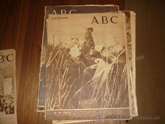 Coleccionismo de Los Domingos de ABC: LOTE DE 7 ABC EL DIA DE LA VICTORIA Nº EXTRAORDINARIO 1941 42 49 50 ETC CON FRANCO P. DE RIVERA ETC - Foto 3 - 34748512