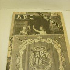 Collectionnisme de Los Domingos de ABC: ABC VIERNES 28 DE NOVIEMBRE DE 1975 EL PUEBLO,CON EL REY. Lote 34963592