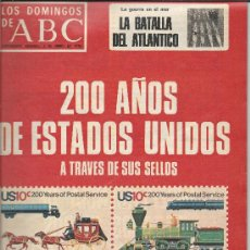 Coleccionismo de Los Domingos de ABC: 200 AÑOS DE LOS EE.UU. A TRAVES DE SUS SELLOS-LOS DOMINGOS DE ABC. Lote 34993733