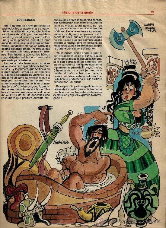 Coleccionismo de Los Domingos de ABC: MINGOTE.HISTORIA DE LA GENTE.LOS DOMINGOS DE ABC - Foto 2 - 35219041