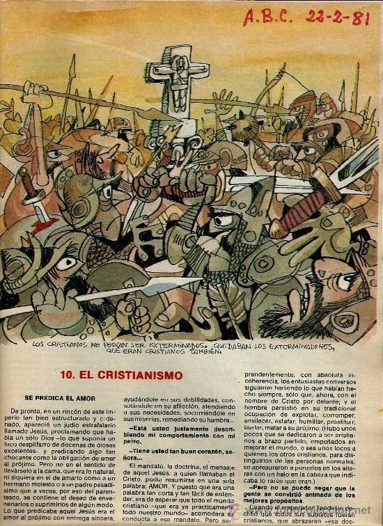 Coleccionismo de Los Domingos de ABC: MINGOTE.HISTORIA DE LA GENTE.LOS DOMINGOS DE ABC - Foto 4 - 35219041