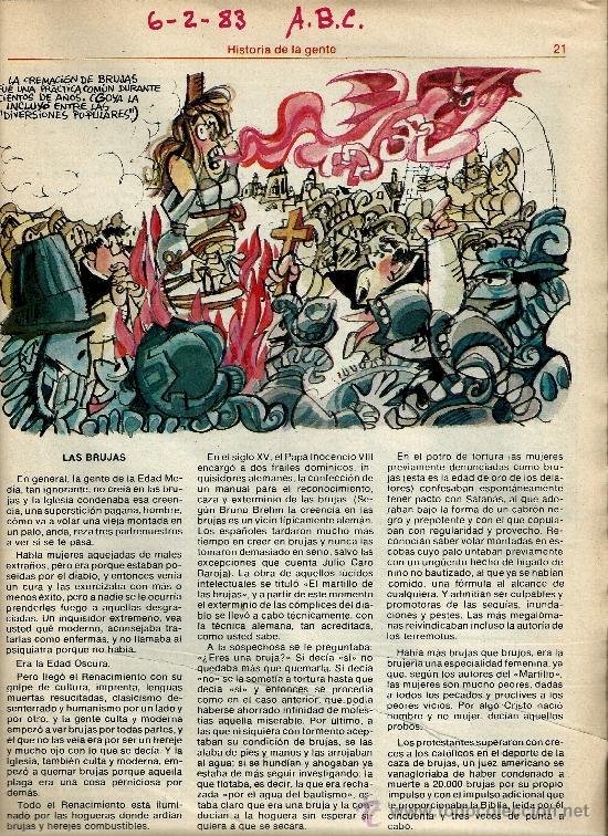 Coleccionismo de Los Domingos de ABC: MINGOTE.HISTORIA DE LA GENTE.LOS DOMINGOS DE ABC - Foto 7 - 35219041