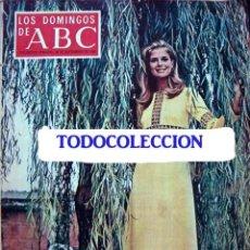 Coleccionismo de Los Domingos de ABC: REVISTA LOS DOMINGOS DE ABC 1969 / CANDICE BERGEN, FLAMENCO, EL AMOR BRUJO. Lote 35334120