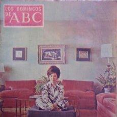 Coleccionismo de Los Domingos de ABC: LOS DOMINGOS DE ABC,8 DE MARZO DE 1970. Lote 35369950