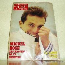 Coleccionismo de Los Domingos de ABC: LOS DOMINGOS DE ABC Y SUPLEMENTO AL LORO 1985 Y 1987. Lote 123290007