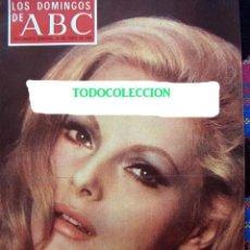 Coleccionismo de Los Domingos de ABC: REVISTA LOS DOMINGOS DE ABC / VIRNA LISI, SONIA BRUNO, PIRRI / 1970. Lote 36076828