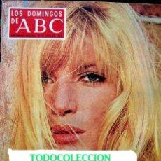 Coleccionismo de Los Domingos de ABC: REVISTA LOS DOMINGOS DE ABC / MONICA VITTI, GERALDINE CHAPLIN, PABLO PICASSO / 1974. Lote 36080134