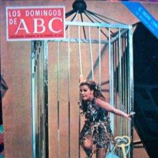 Coleccionismo de Los Domingos de ABC: REVISTA LOS DOMINGOS DE ABC / ANN MARGRET, NURIA ESPERT / 1972. Lote 36132345