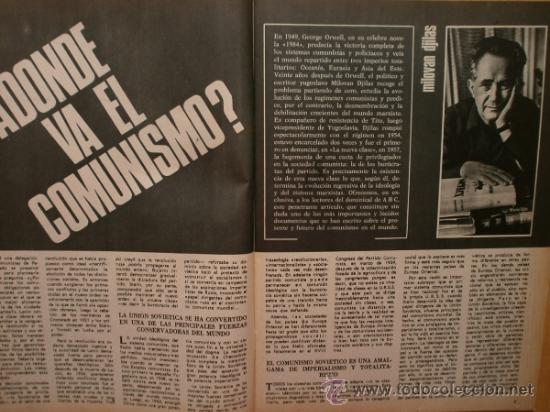 Coleccionismo de Los Domingos de ABC: ABC. SUPLEMENTO.1969.LENIN,MAO,STALIN,BREZNEV,H.S.-ISSERSTED,ALFONSO XII,SIDNEY POLTIER,EL TENIS - Foto 2 - 36707660
