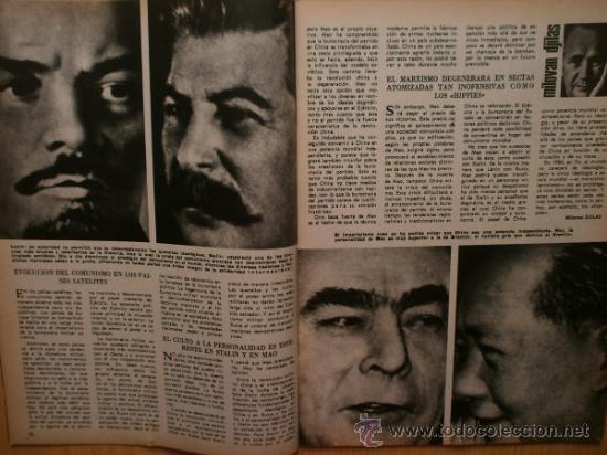 Coleccionismo de Los Domingos de ABC: ABC. SUPLEMENTO.1969.LENIN,MAO,STALIN,BREZNEV,H.S.-ISSERSTED,ALFONSO XII,SIDNEY POLTIER,EL TENIS - Foto 4 - 36707660