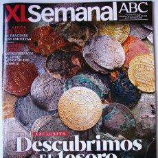 Coleccionismo de Los Domingos de ABC: REVISTA DEL ABC MARZO 2013- DESCUBRIMOS EL TESORO DE NUESTA SEÑORA MERCEDES - ODYSSEY. Lote 36779458