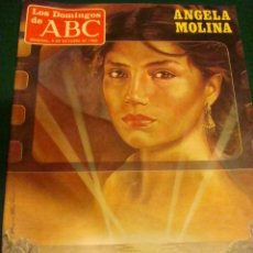 Coleccionismo de Los Domingos de ABC: ANGELA MOLINA- ROCIO JURADO- MASSIEL- LOS DOMINGOS DE ABC. Lote 36905391