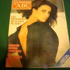 Coleccionismo de Los Domingos de ABC: AMPARO MUÑOZ- LOS DOMINGOS DE ABC. Lote 36905855