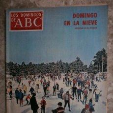Coleccionismo de Los Domingos de ABC: ABC. SUPLEMENTO.1970.LAURA VALENZUELA,AURORA BAUTISTA,R.PEREZ DE AYALA,S.MIRANDA,PICASSO,DIBILDOS.. Lote 36981151