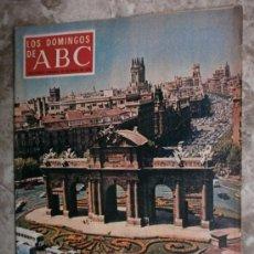 Coleccionismo de Los Domingos de ABC: ABC. SUPLEMENTO.1970.R.DURCAL,NATALIA FIGUEROA,MONICA KOLPEK,ANTONIO BIENVENIDA.. Lote 36981276