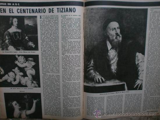 Coleccionismo de Los Domingos de ABC: ABC. SUPLEMENTO.1976.RAPHAEL,J.IGLESIAS,N.MISTRAL,URIBARRI,DAYAN,TIZIANO,J.CORTES-CAVANILLAS. - Foto 5 - 36980315