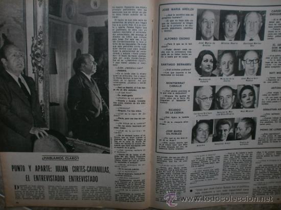 Coleccionismo de Los Domingos de ABC: ABC. SUPLEMENTO.1976.RAPHAEL,J.IGLESIAS,N.MISTRAL,URIBARRI,DAYAN,TIZIANO,J.CORTES-CAVANILLAS. - Foto 6 - 36980315