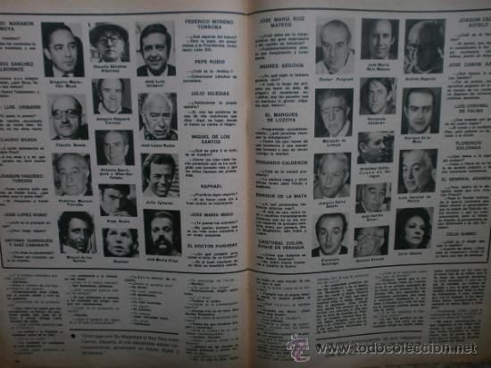 Coleccionismo de Los Domingos de ABC: ABC. SUPLEMENTO.1976.RAPHAEL,J.IGLESIAS,N.MISTRAL,URIBARRI,DAYAN,TIZIANO,J.CORTES-CAVANILLAS. - Foto 7 - 36980315