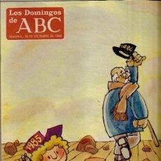 Coleccionismo de Los Domingos de ABC: LOS DOMINGOS DE ABC Nº 869, 30 DE DICIEMBRE DE 1984. Lote 37113273
