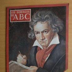 Collectionnisme de Los Domingos de ABC: ABC. SUPLEMENTO.1977. BEETHOVEN, YUGOSLAVIA, GABRIEL GARCIA MARQUEZ, MIGUEL DELIBES.. Lote 37123044