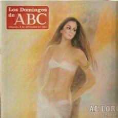 Collectionnisme de Los Domingos de ABC: LOS DOMINGOS DE ABC Nº 853, 9 DE SEPTIEMBRE DE 1984. Lote 37139808