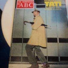 Coleccionismo de Los Domingos de ABC: LOS DOMINGOS DEL ABC. PORTADA: ENTREVISTA CON TATI. 26-AGOSTO-1979. Lote 37342305